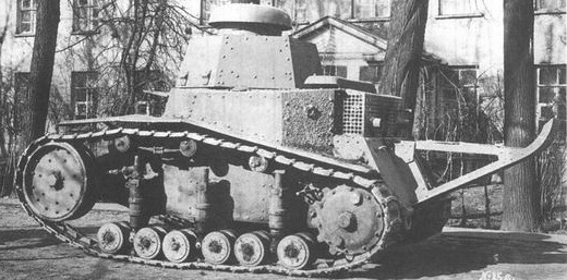 A preseries T-16 in 1929 - Credits: Wikimedia.