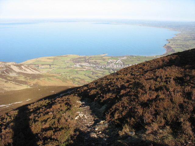 The Bwlch yr Eifl path to the summit of Yr Eifl - geograph.org.uk - 701825