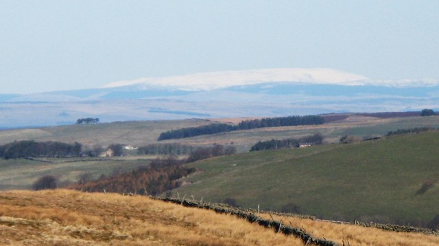 File:The Cheviot under snow - geograph.org.uk - 1270727.jpg