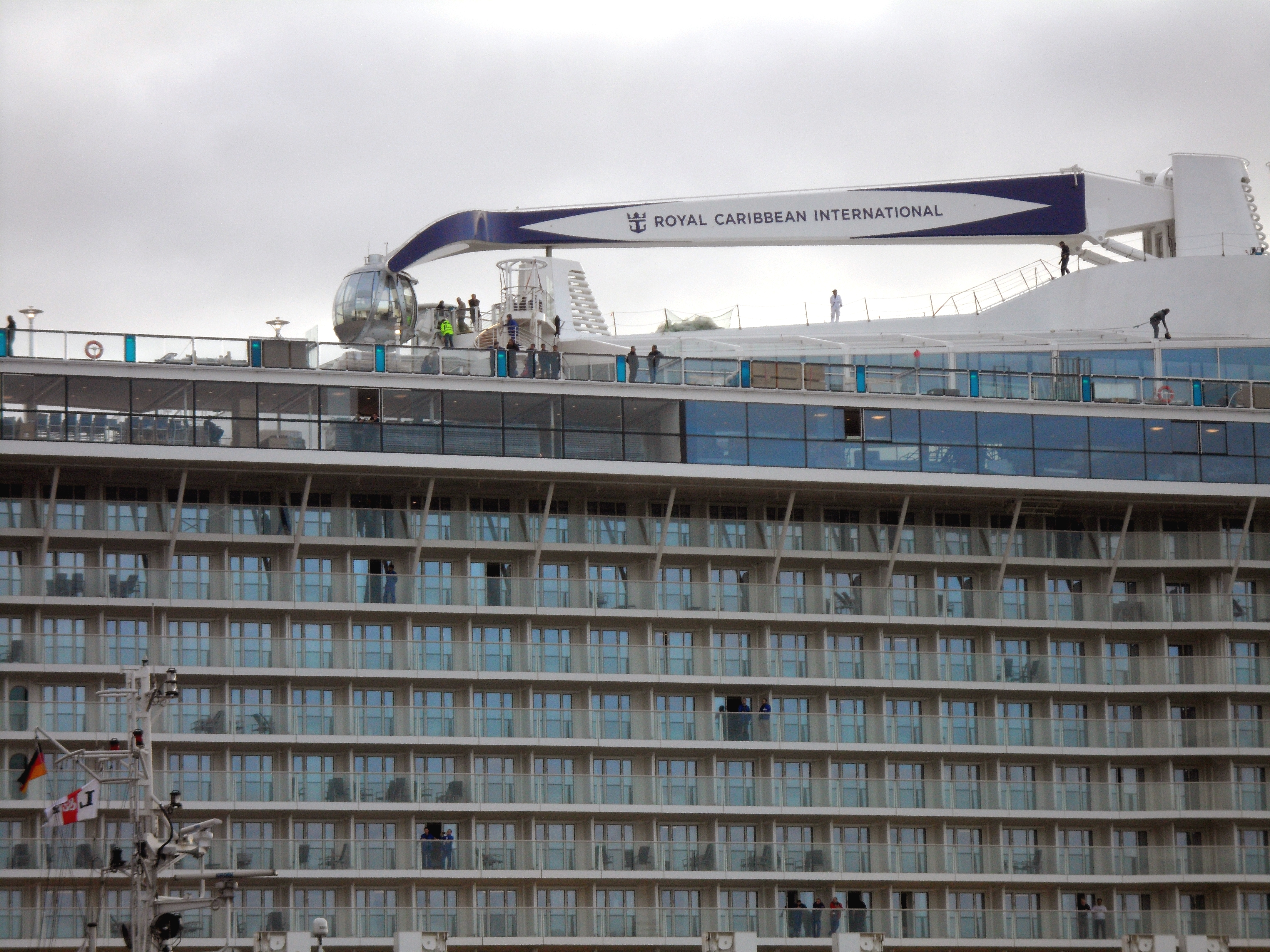 FileThe New Cruise Ship Quantum Of The Sea With The