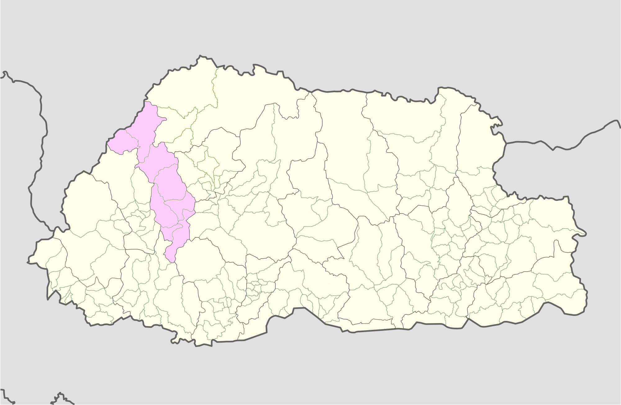 FileThimphu Bhutan location mappng Wikimedia Commons