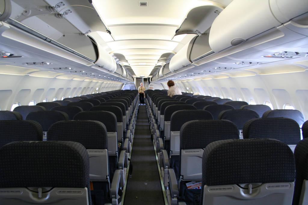 us airways airbus a320 interior