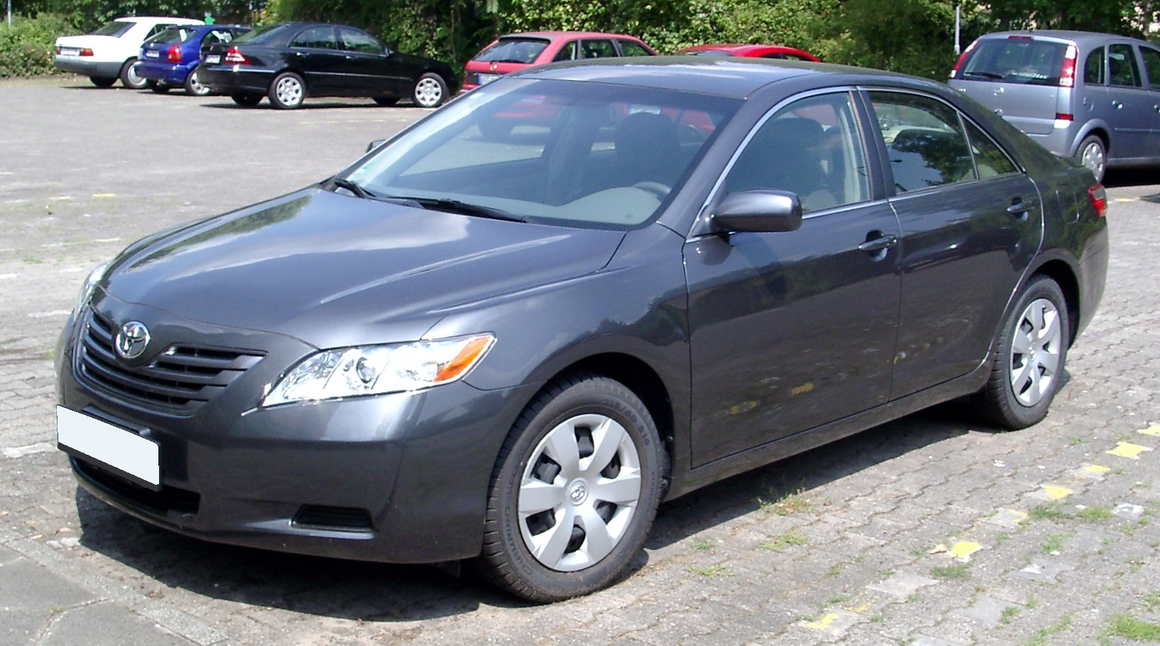 Toyota camry exterior dimensions autos post