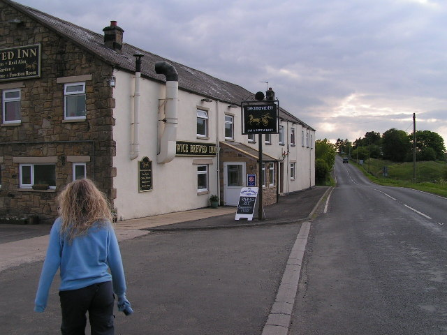 Twice Brewed Inn - geograph.org.uk - 46724