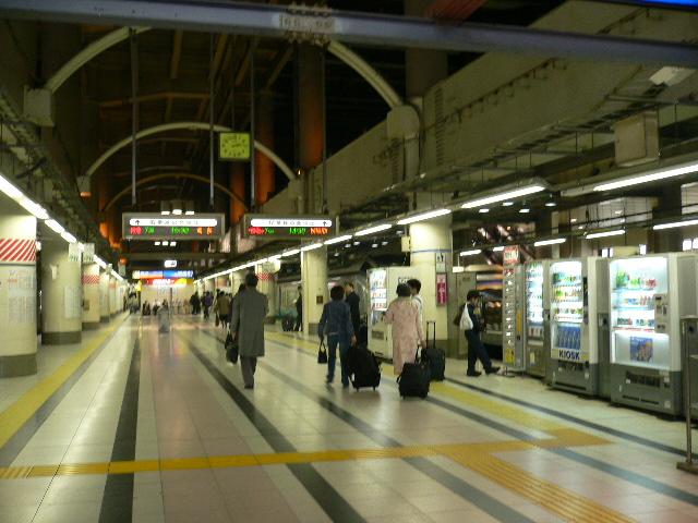 新幹線のメニュー(2)