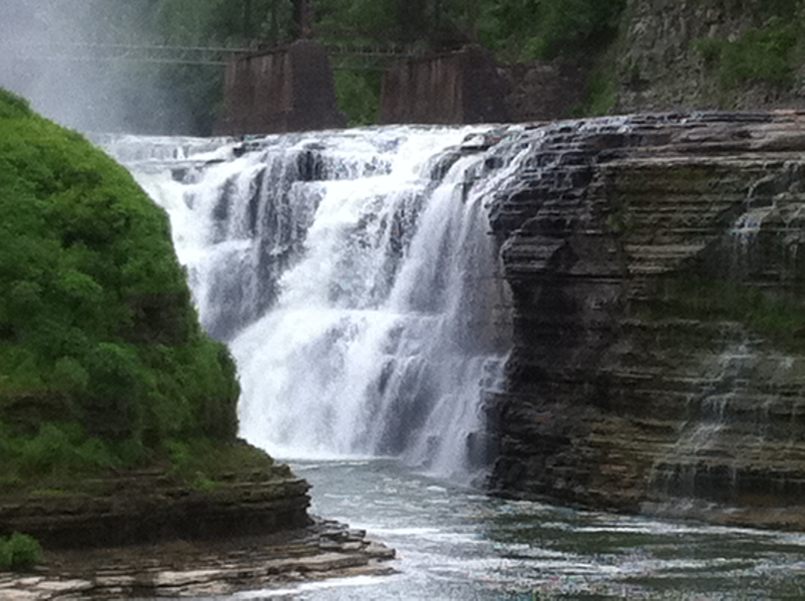 File Upper Waterfall Letchworth State Park Jpg