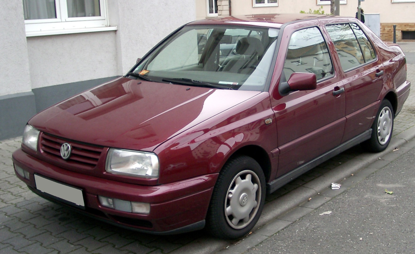 File Vw Vento Front 20080320 Jpg Wikimedia Commons