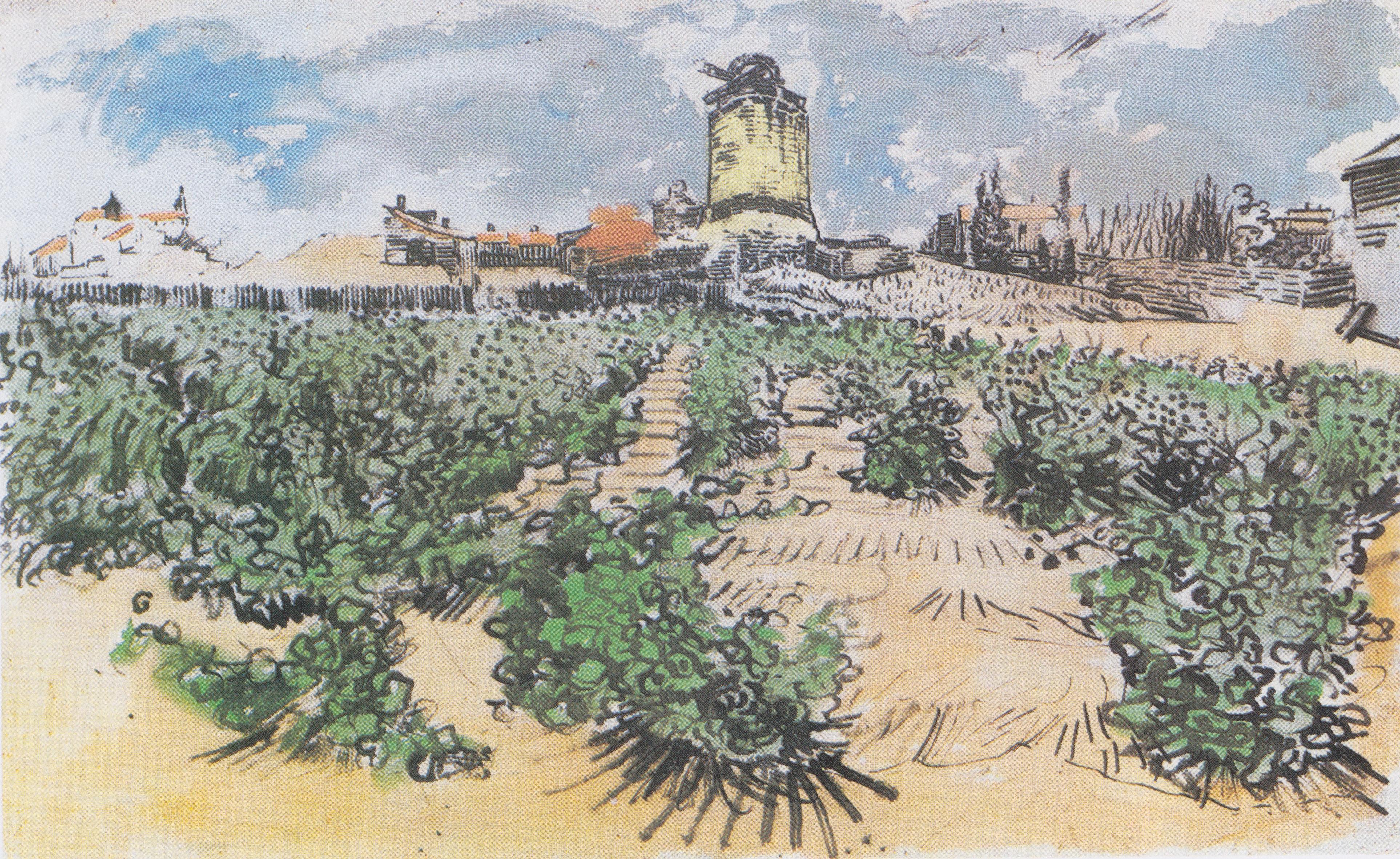 File:Van Gogh - Die Mühle von Alphonse Daudet.