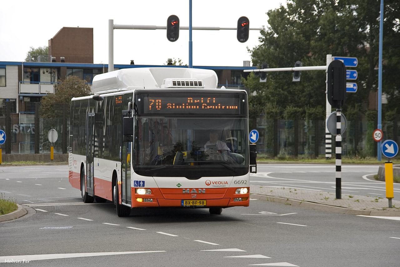 Meer en extra bussen richting Midden Delfland