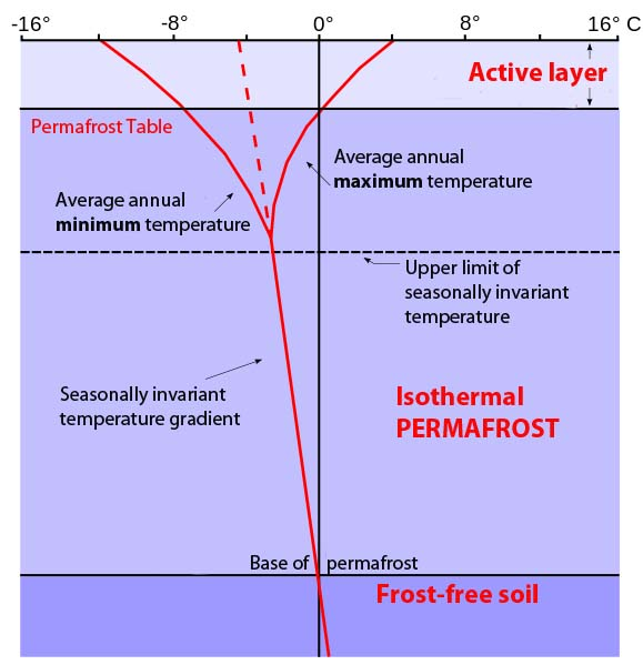 Active layer wikipedia for Soil zone of accumulation