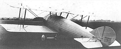 Vickers E.S.1 rear quarter view