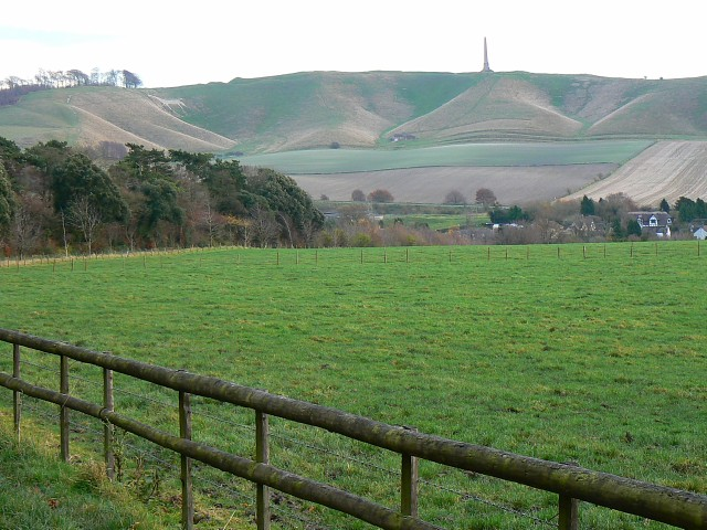 View from the bridleway north of Cherhill - geograph.org.uk - 1057639