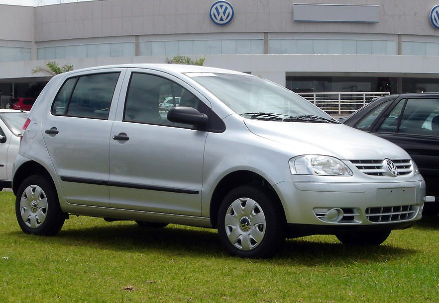 file volkswagen fox 2007 wikimedia commons. Black Bedroom Furniture Sets. Home Design Ideas