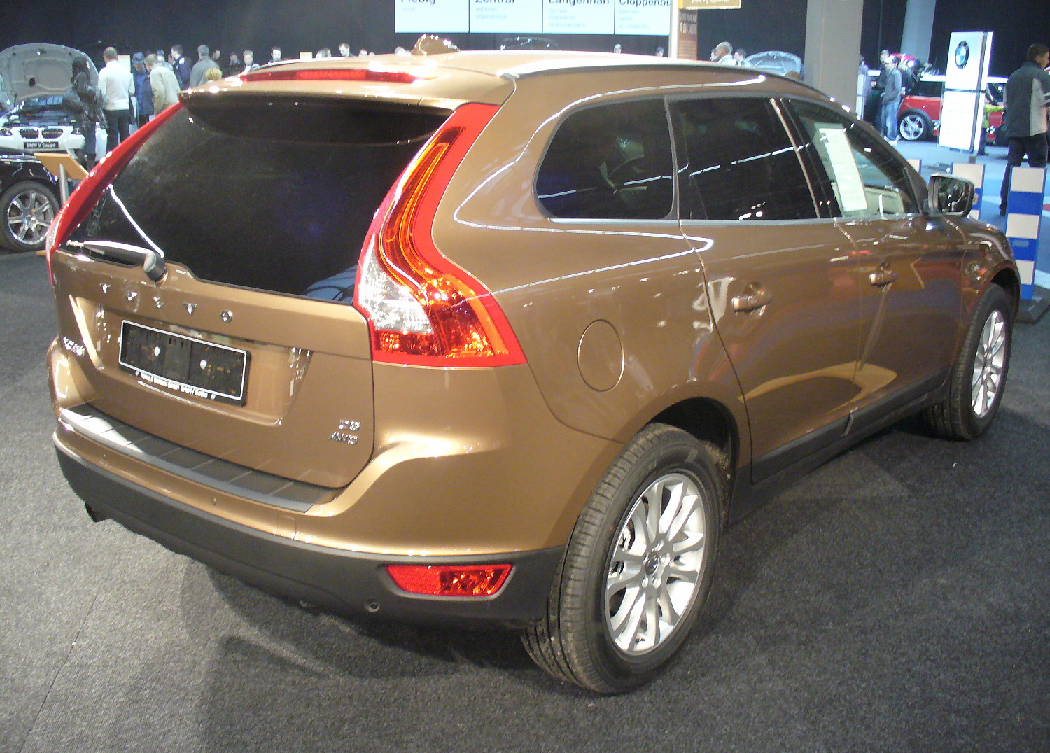 File Volvo Xc60 D5 Awd Heck Jpg Wikimedia Commons
