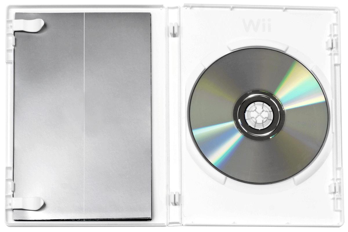 Wii Optical Disc in case