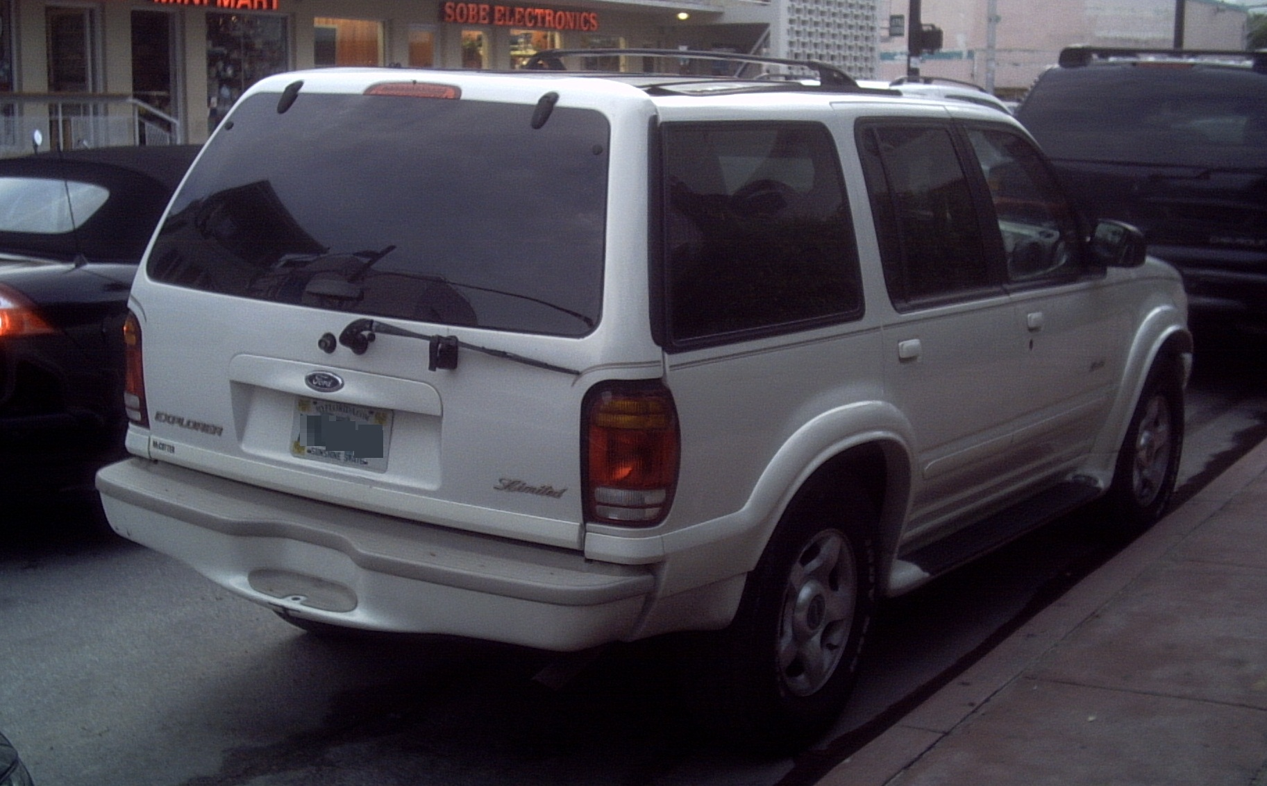 Ford Explorer Limited >> File:'99-'01 Ford Explorer Limited -- Rear.JPG - Wikimedia Commons