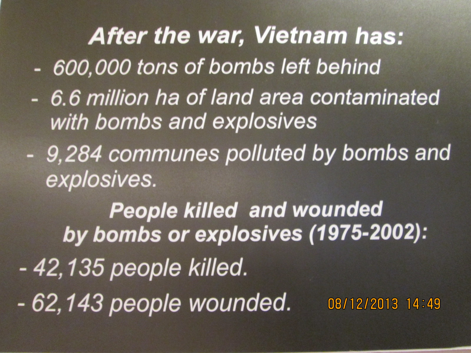The Impact of War on Vietnam