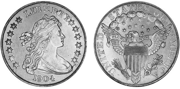 File 1804 Silver Dollar Class I Us Mint Specimen Jpg