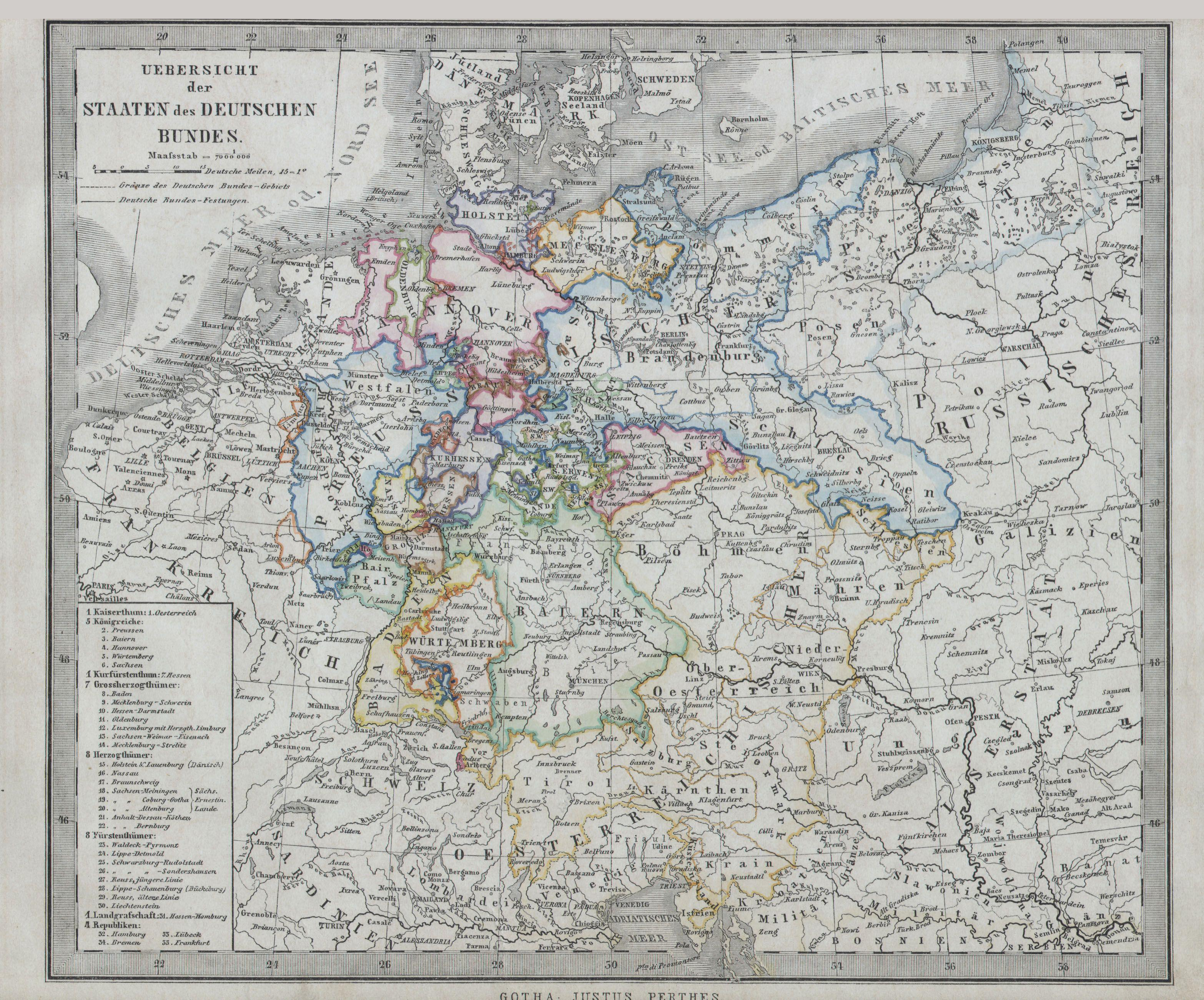 File1862 Stieler Map of Northern Germany Geographicus