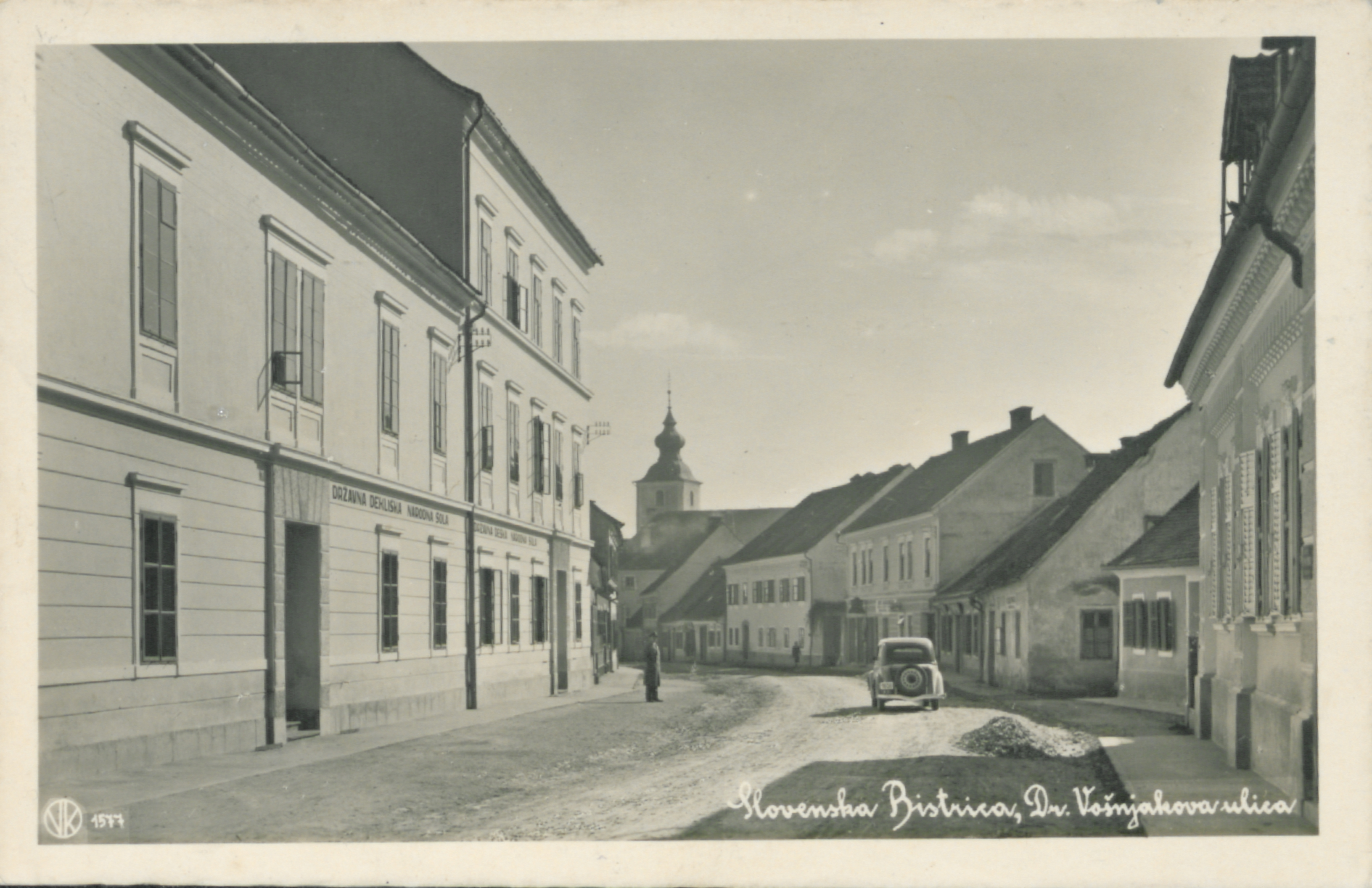 file 1940 postcard of slovenska bistrica 2 jpg wikimedia commons