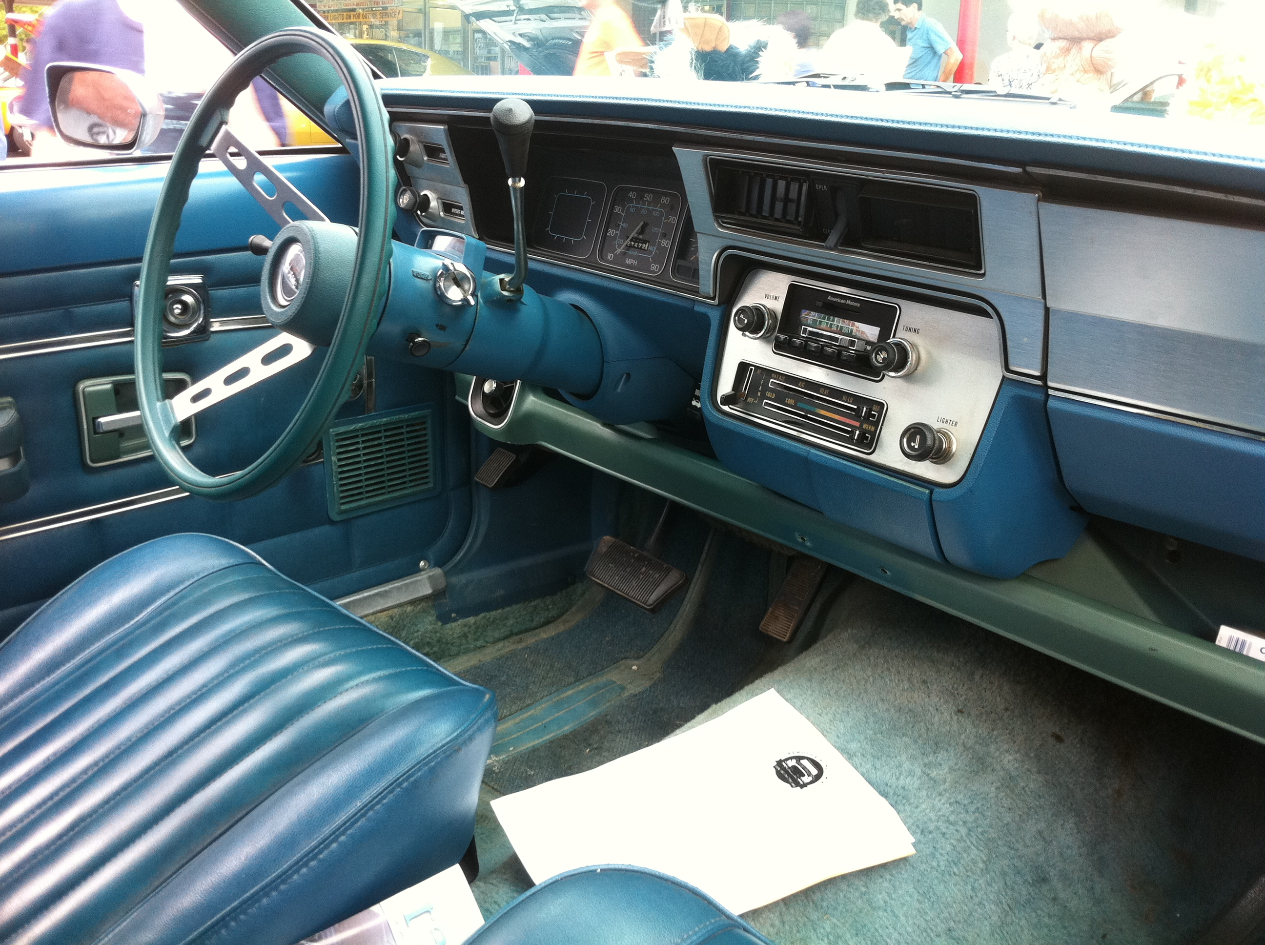 File 1978 amc gremlin x blue ka wikimedia commons for Interieur 78