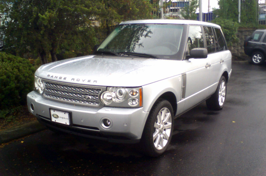 file 2007 range rover supercharged wikimedia commons. Black Bedroom Furniture Sets. Home Design Ideas