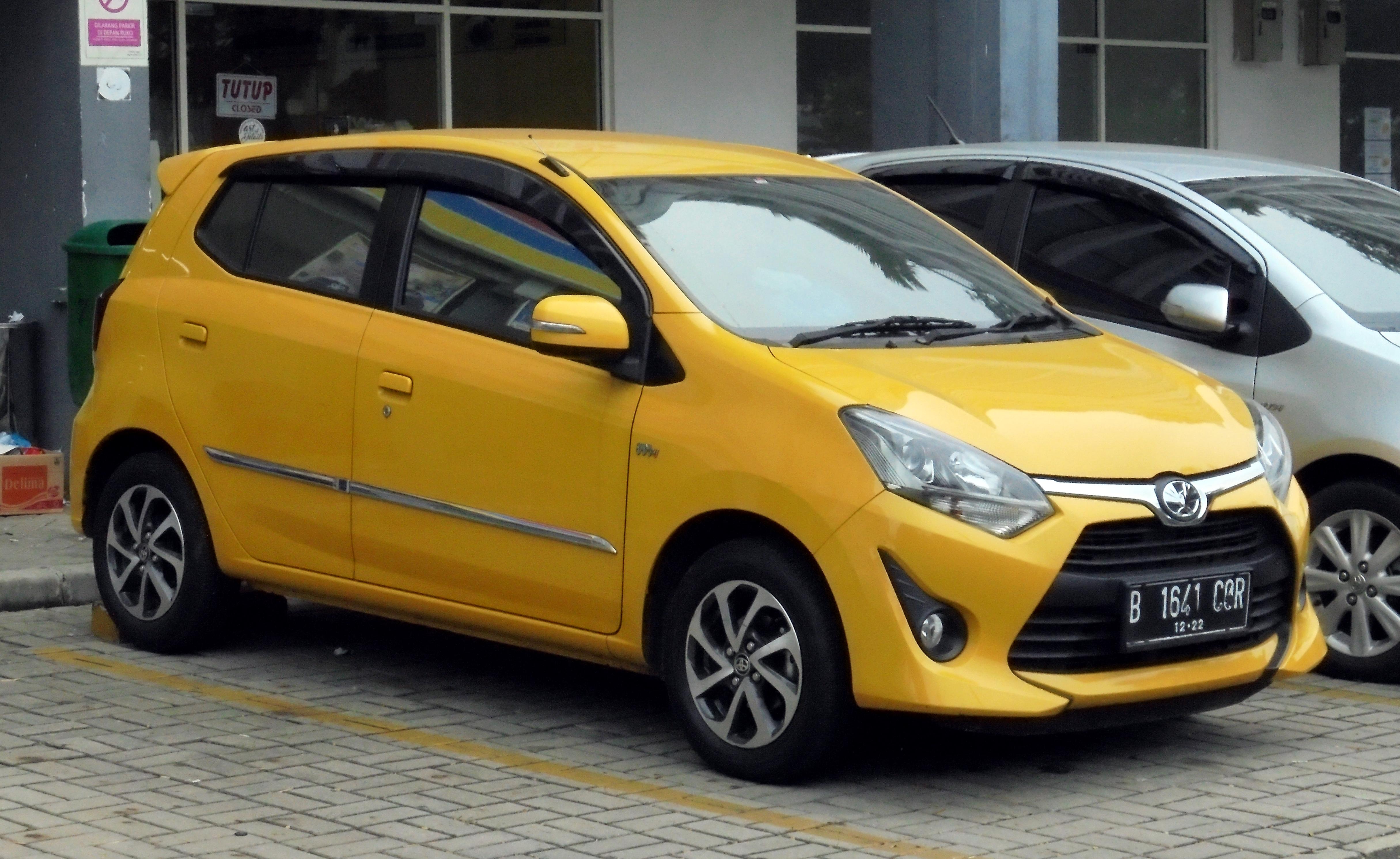File:2017 Toyota Agya 1.2 G Hatchback (B101RA; 12-09-2018