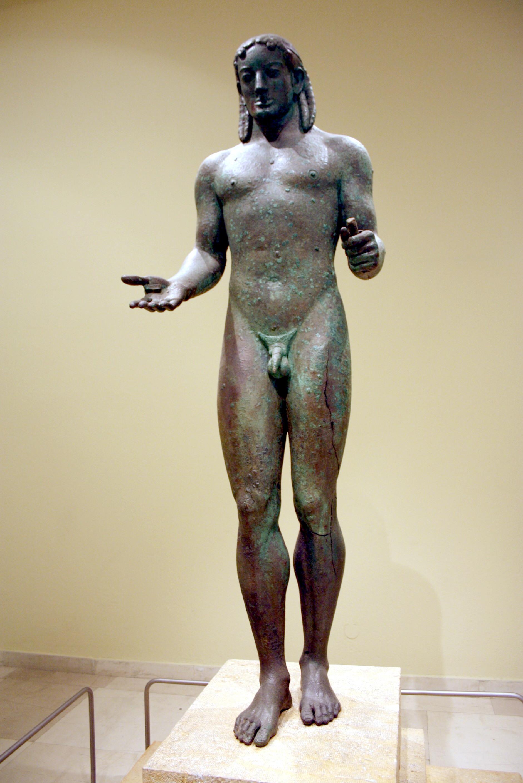 Статуя варвар древнегреческая