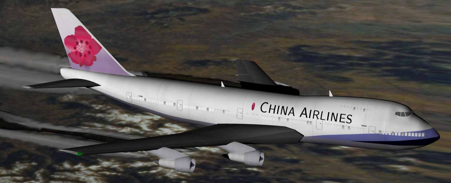 The Crash Of China Airlines Flight 611 Captainsvoyage