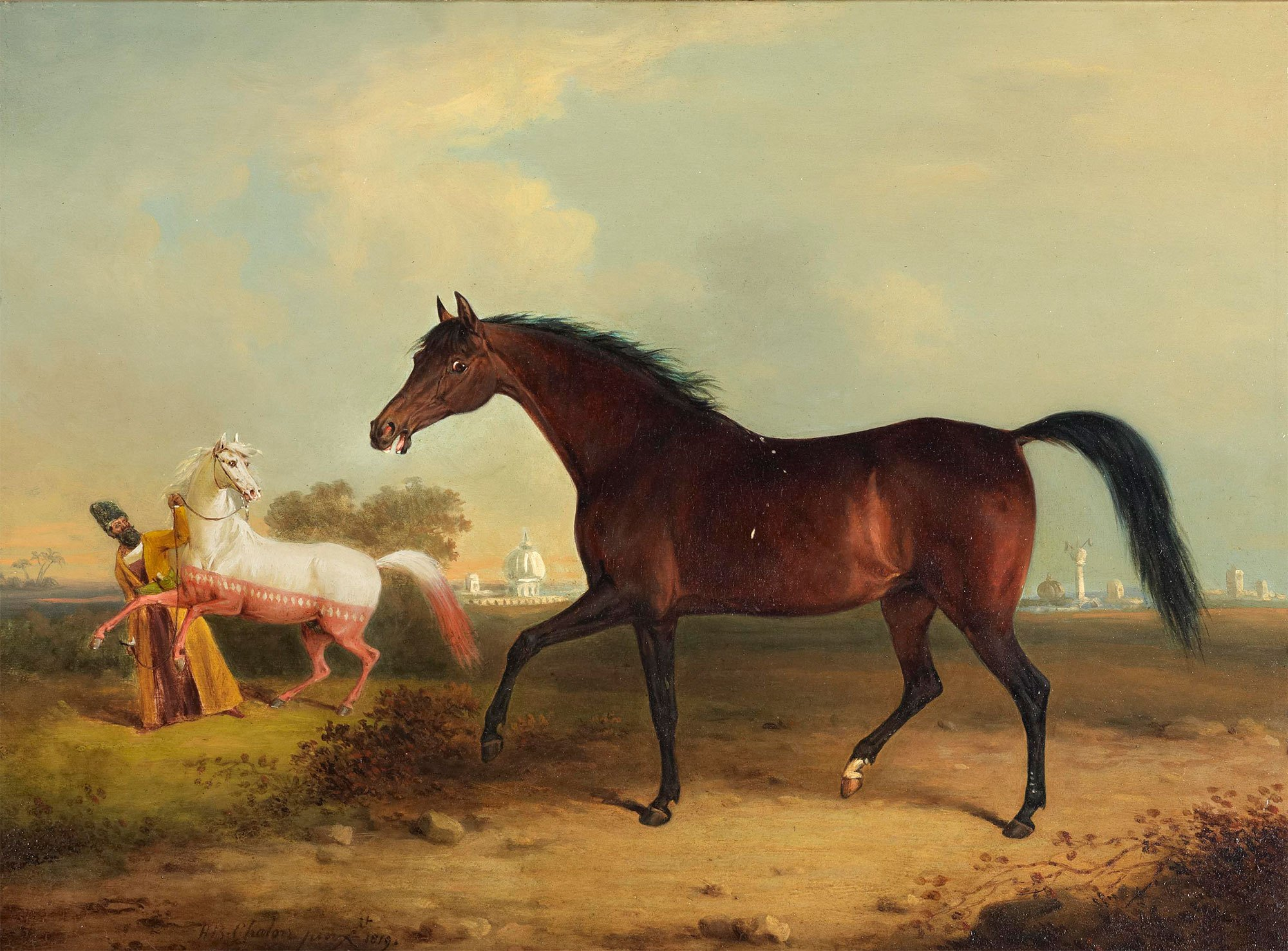 File:A Persian mare presented to H.R.H. the Prince Regent ...