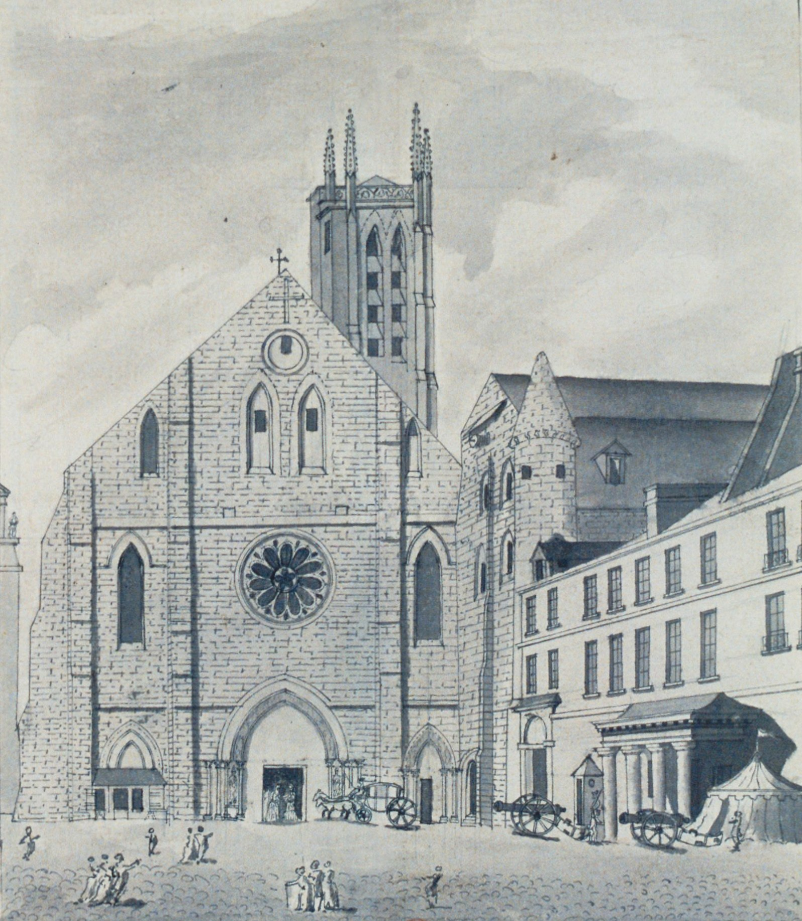 Image illustrative de l'article Abbaye Sainte-Geneviève de Paris