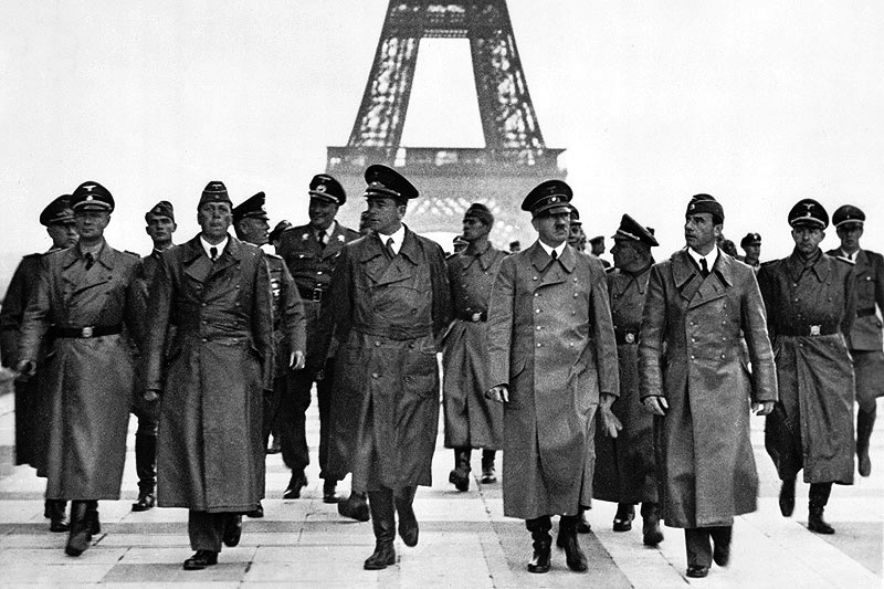 Adolf Hitler, Eiffel Tower, Paris 23 June 1940
