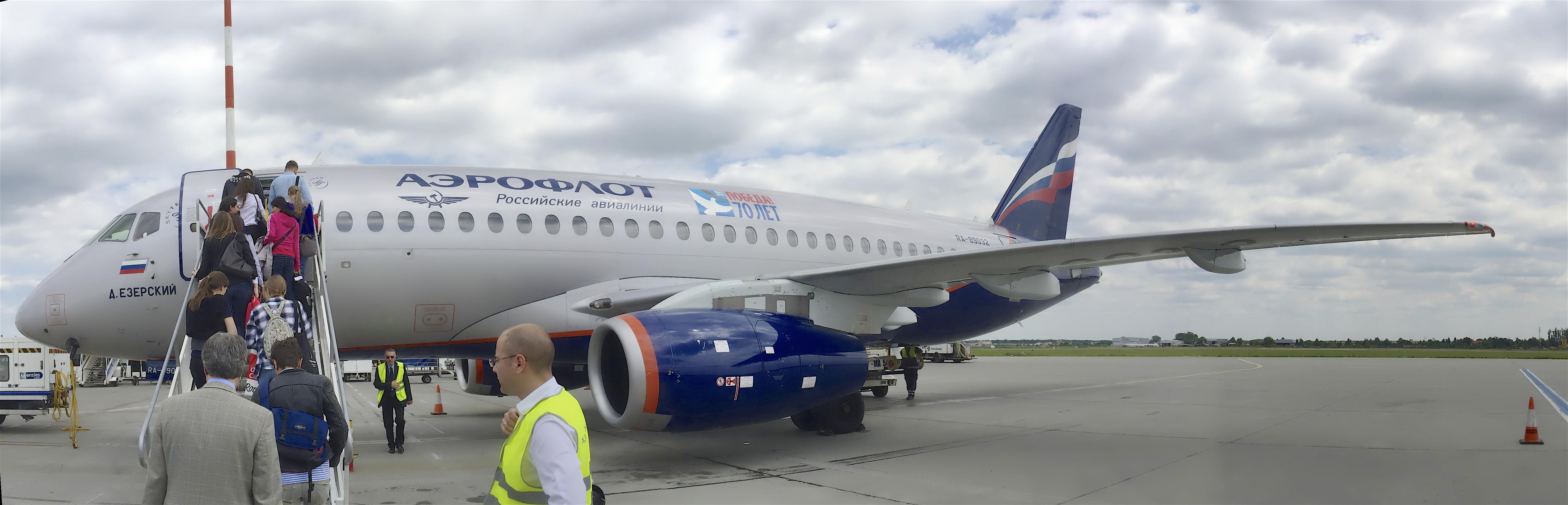 Aeroporto Bucarest : File aeroflot plane otopeni airport bucharest romania une