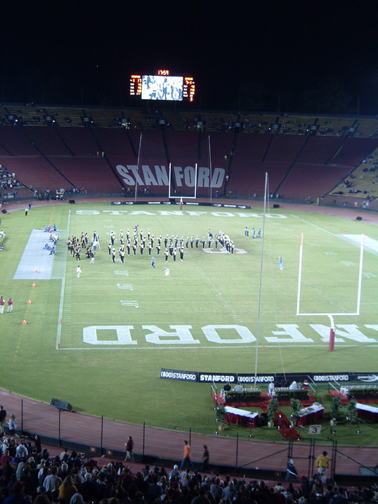 File:Aggies at Stanford (half-time show) jpg - Wikimedia Commons
