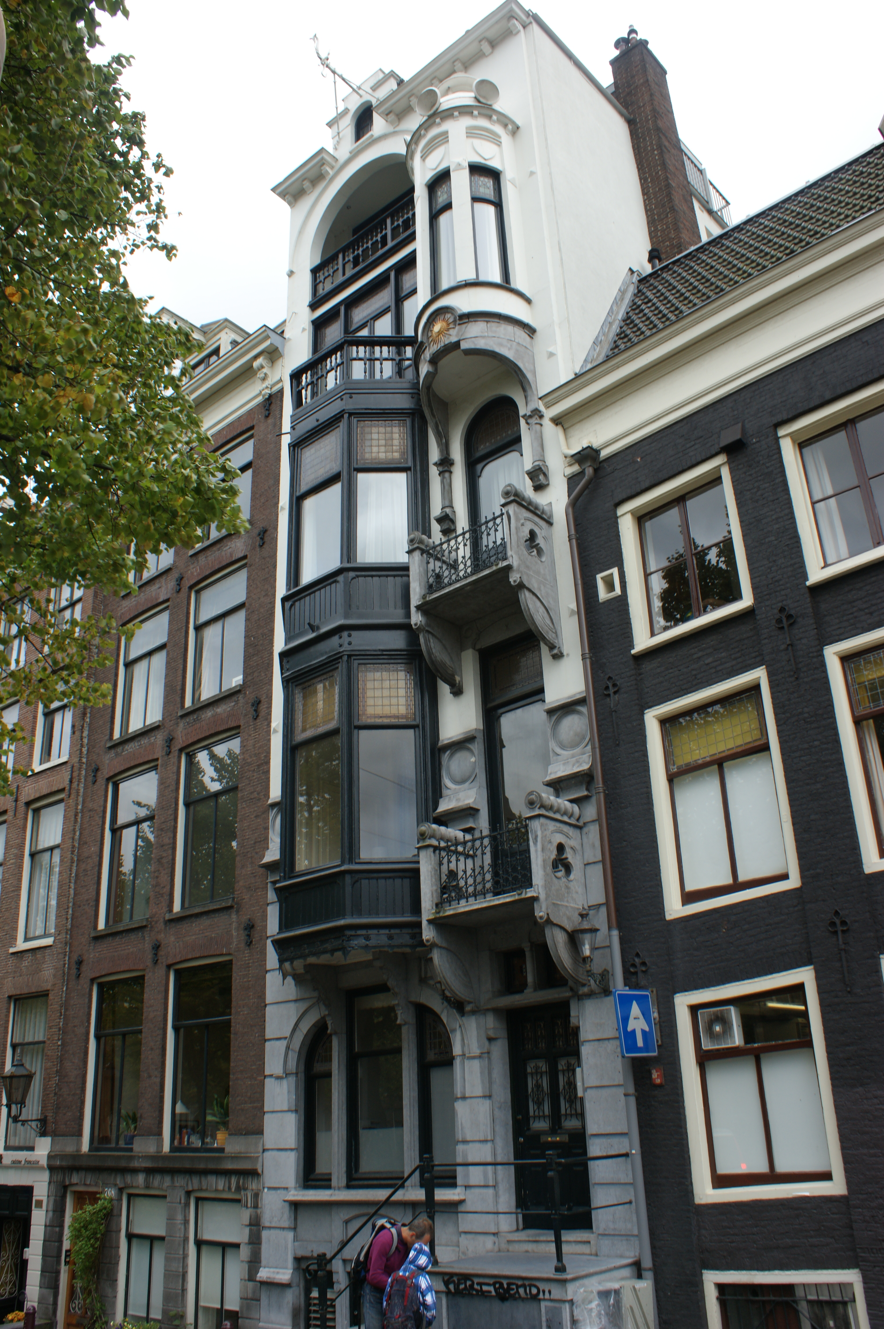 woonhuis voor de bakker in amsterdam monument