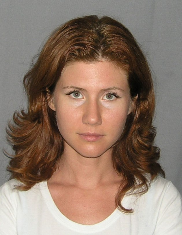 Russian spy Anna Chapman's mug shot by the US Marshals Service