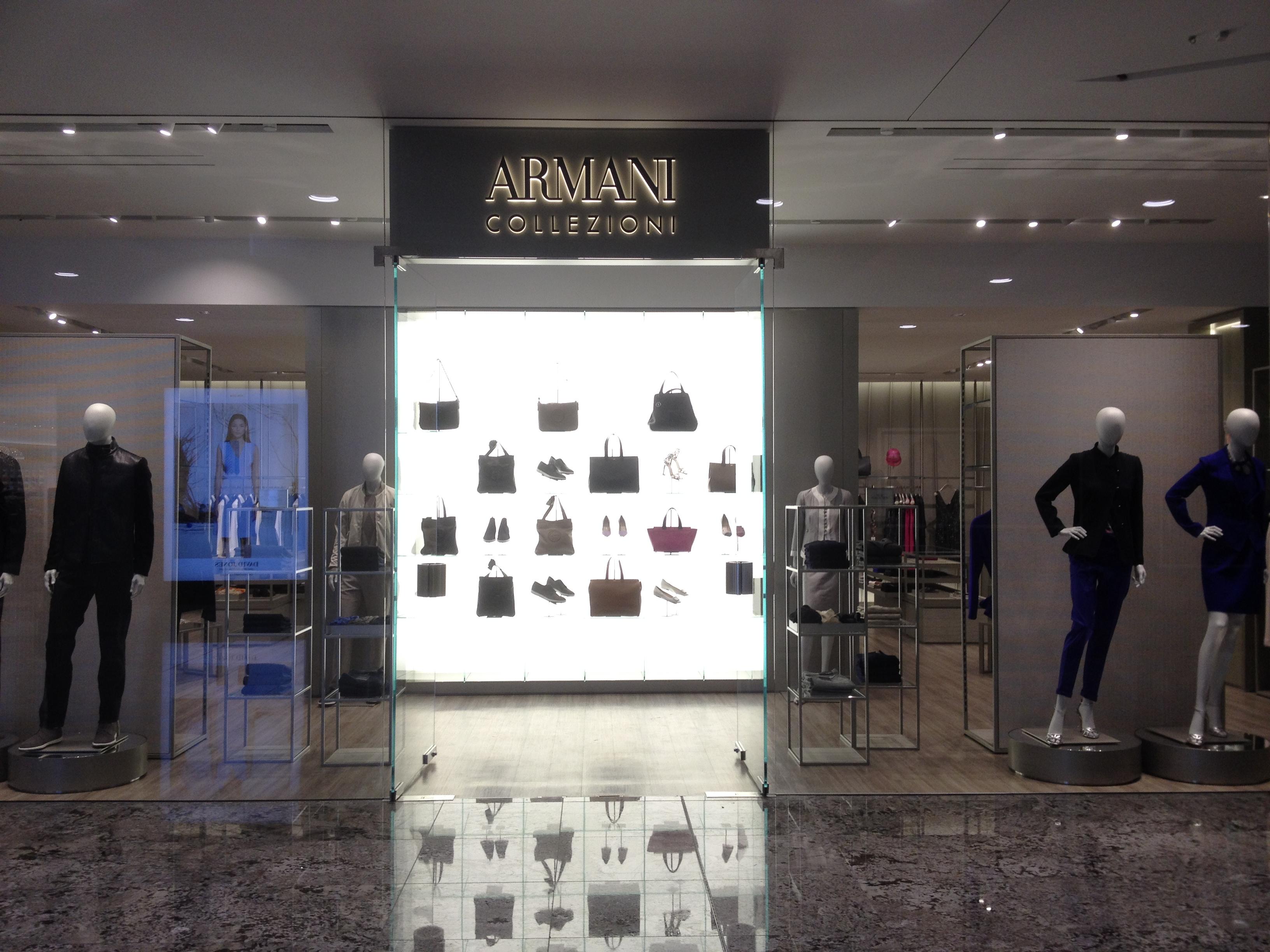 Wiki armani upcscavenger for Armani store nyc