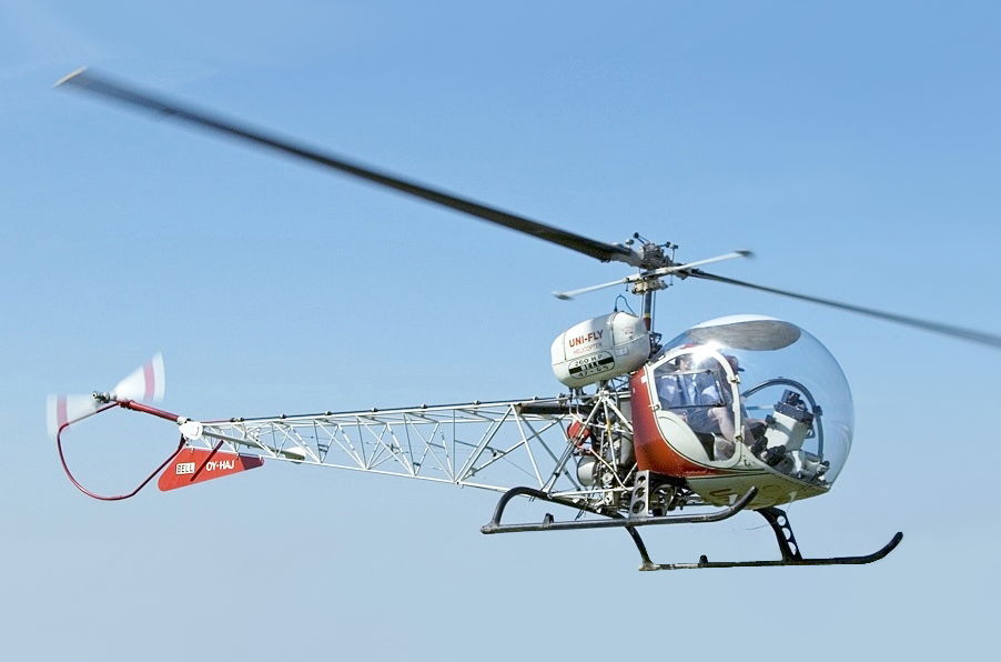 Bell_47G-5_Uni_Fly,_STA_Stauning,_Denmar