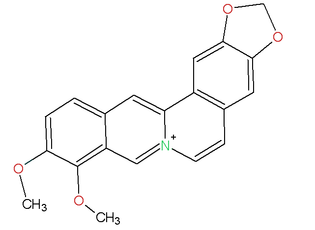 Berberine Chemical Structure
