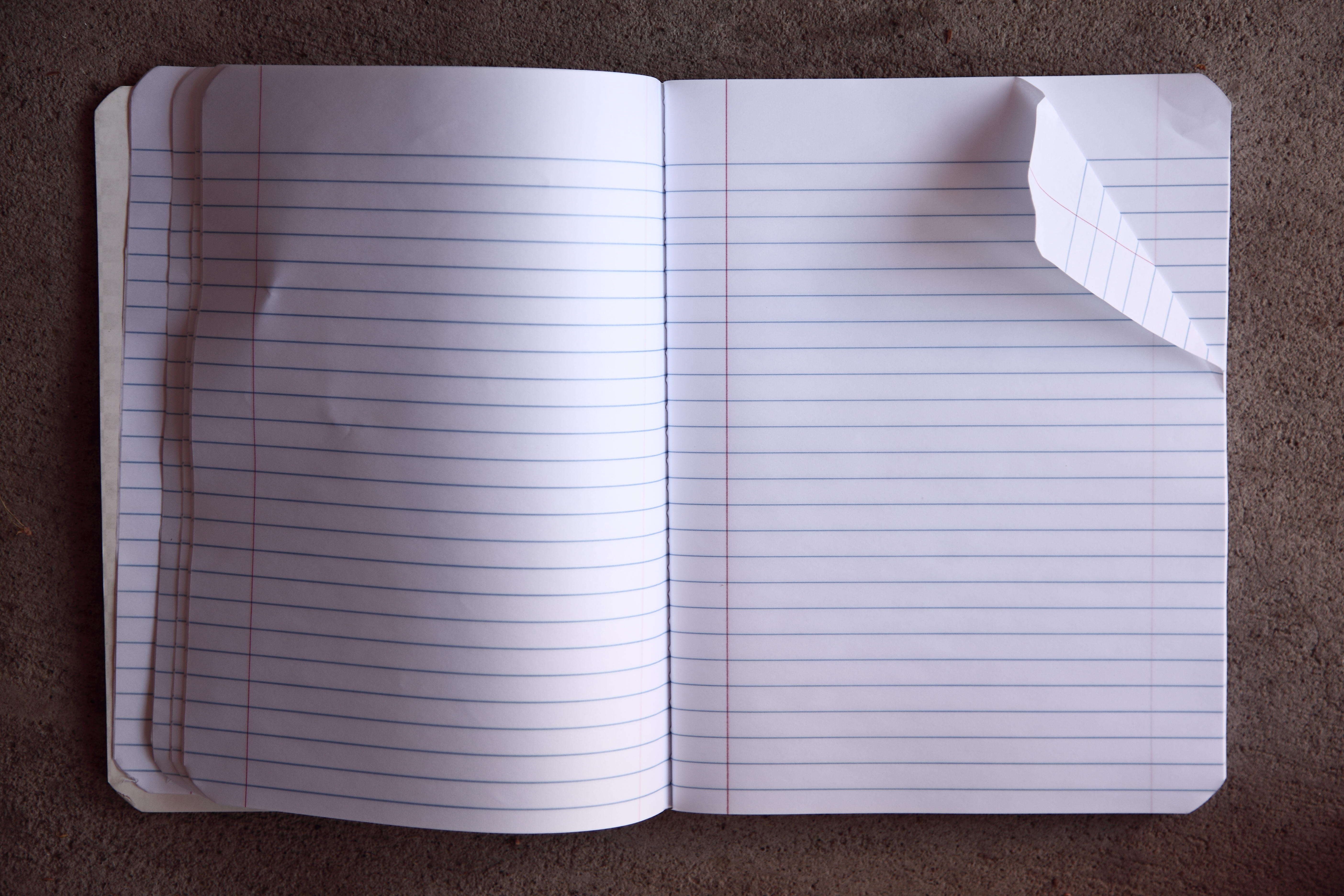 How to open a notebook