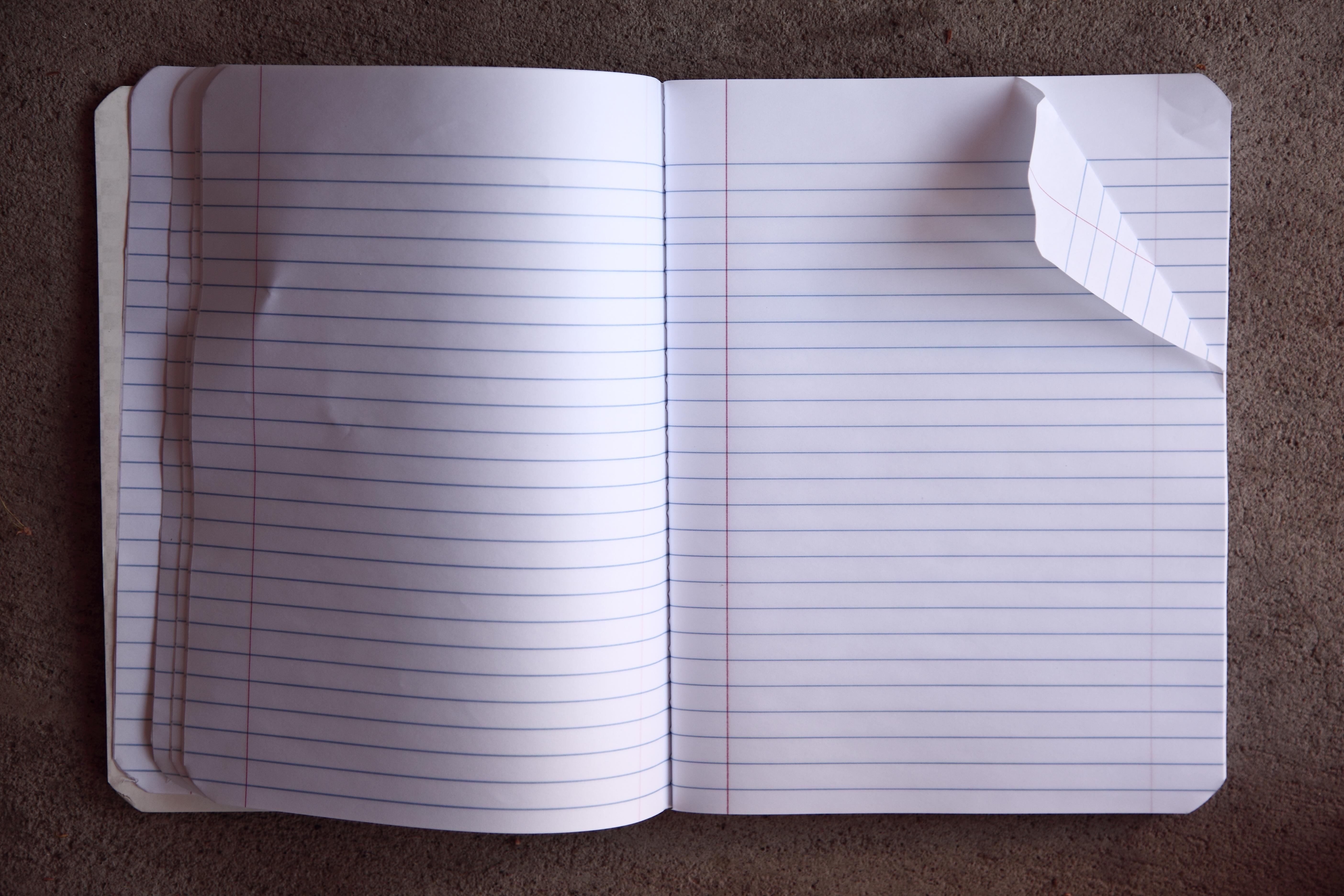 Open Writing Notebooks | www.pixshark.com - Images ...