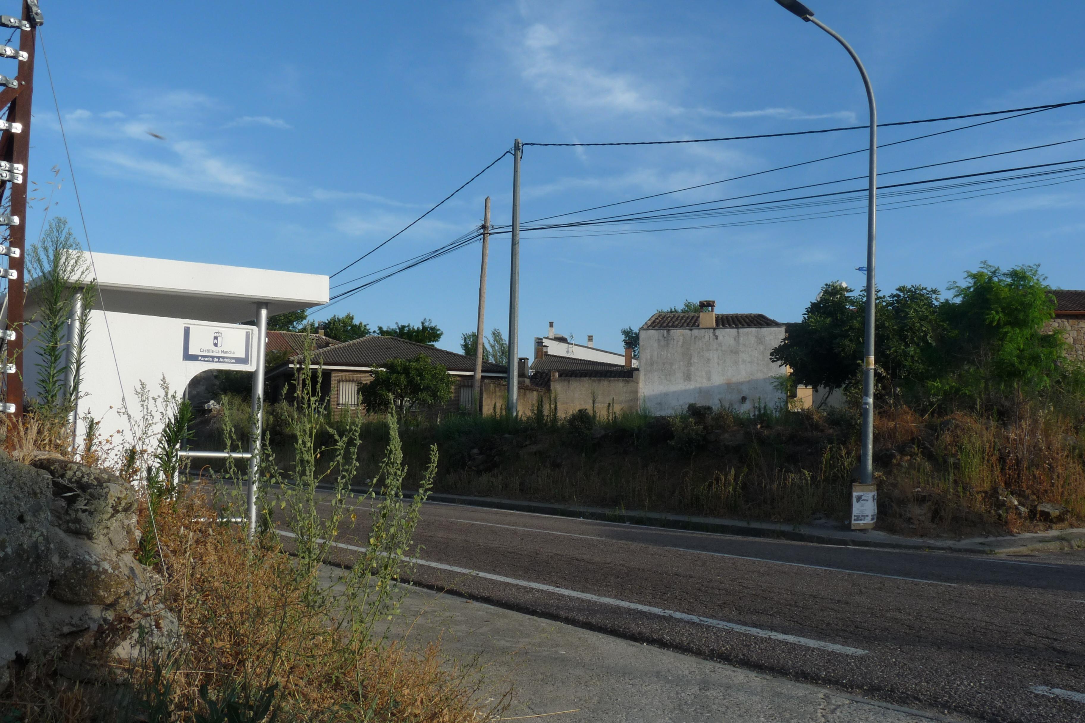 File Carretera Cm 5100 Atravesando Sotillo De Las Palomas Jpg