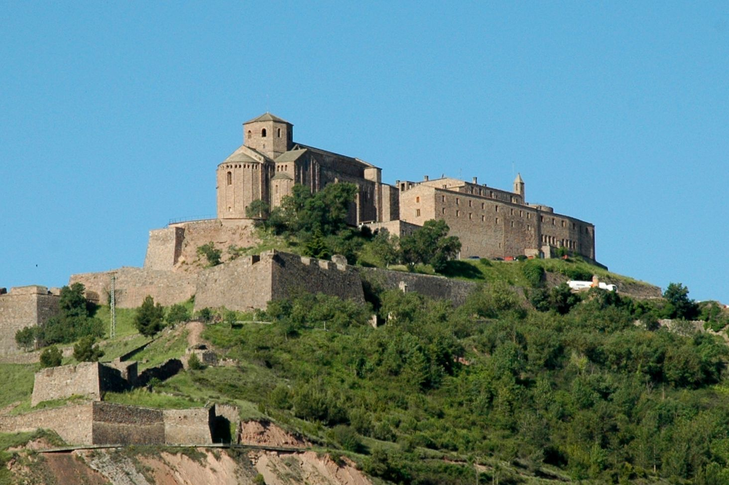 Cardona Spain  City pictures : Castell de Cardona Wikipedia, the free encyclopedia