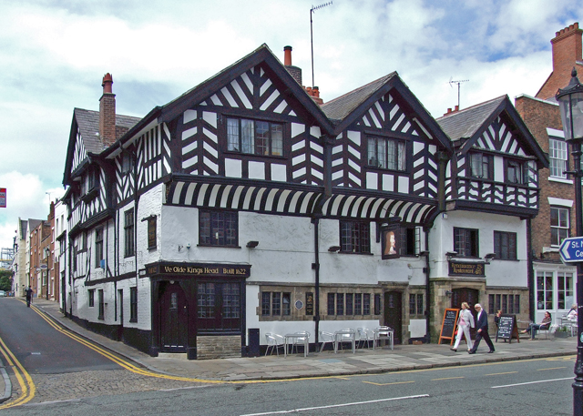 Old King S Head Hotel Chester Wikipedia