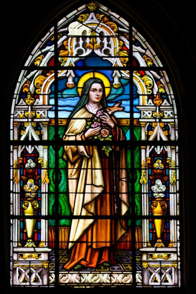 Stained Glass Windows : File cathedral of st mary the crowned stained glass