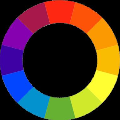 Couleur secondaire wikiwand - Le cercle chromatique ...