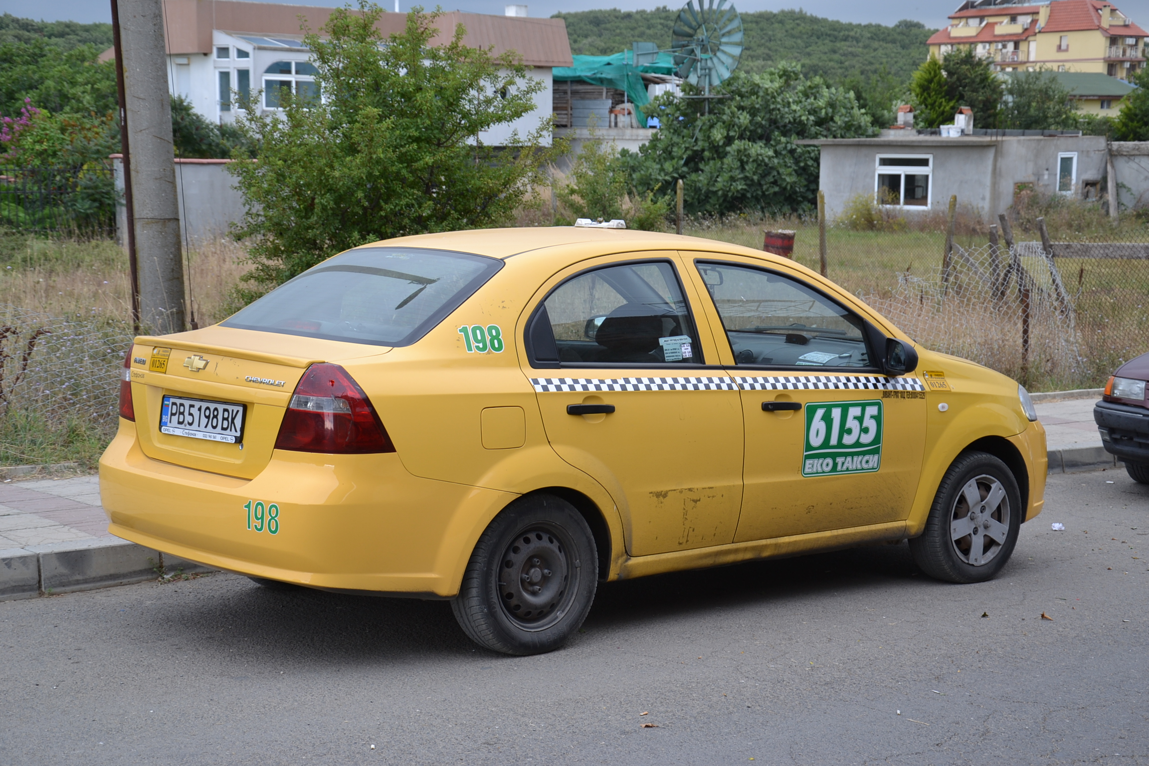 File Chevrolet Aveo Taxi Sinemorec Bul Jpg Wikimedia