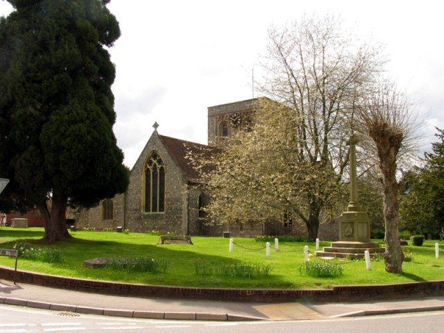 Church in Kingsclere - geograph.org.uk - 4823