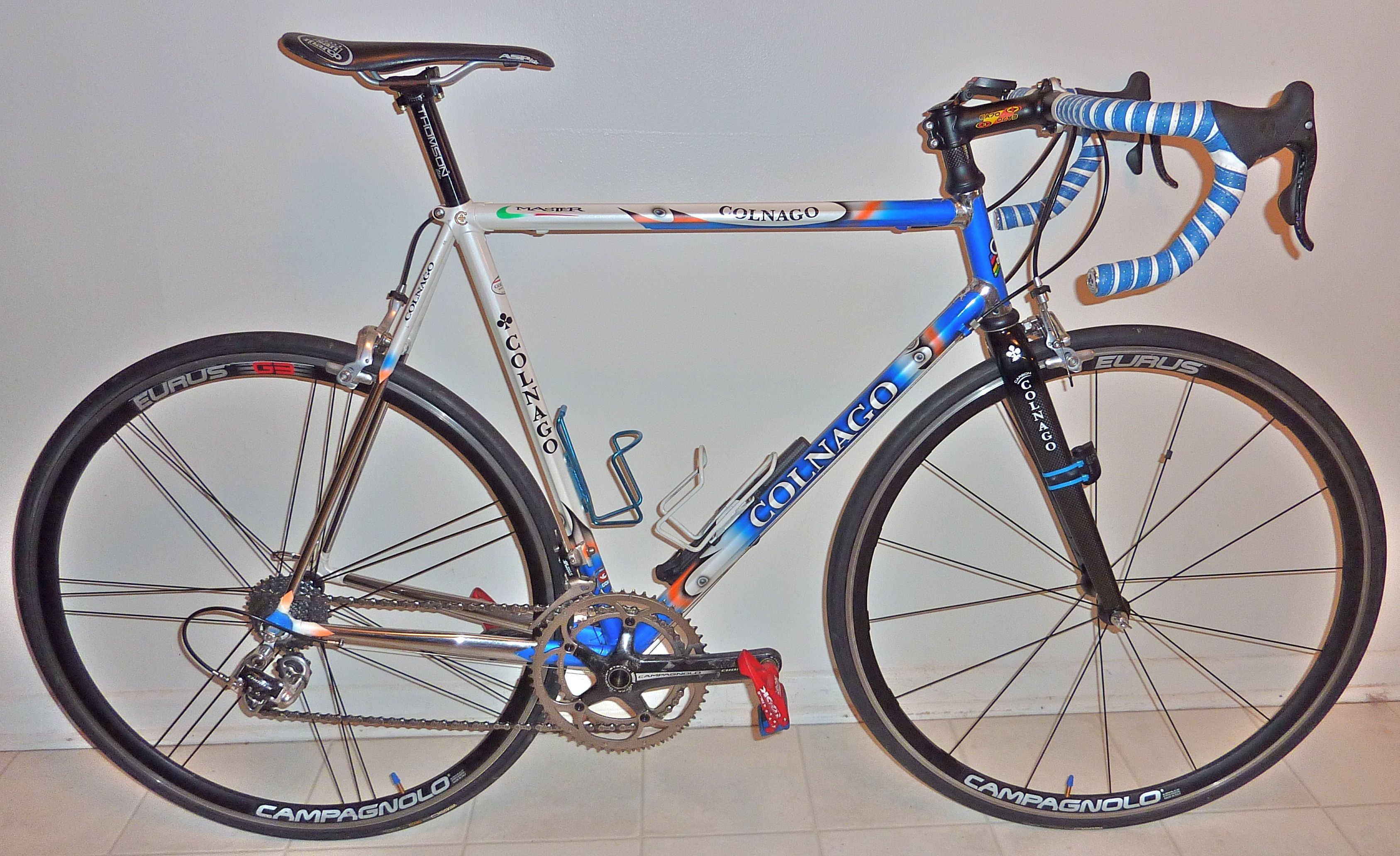 Alan Bike Made In Italy steel racing bicycle