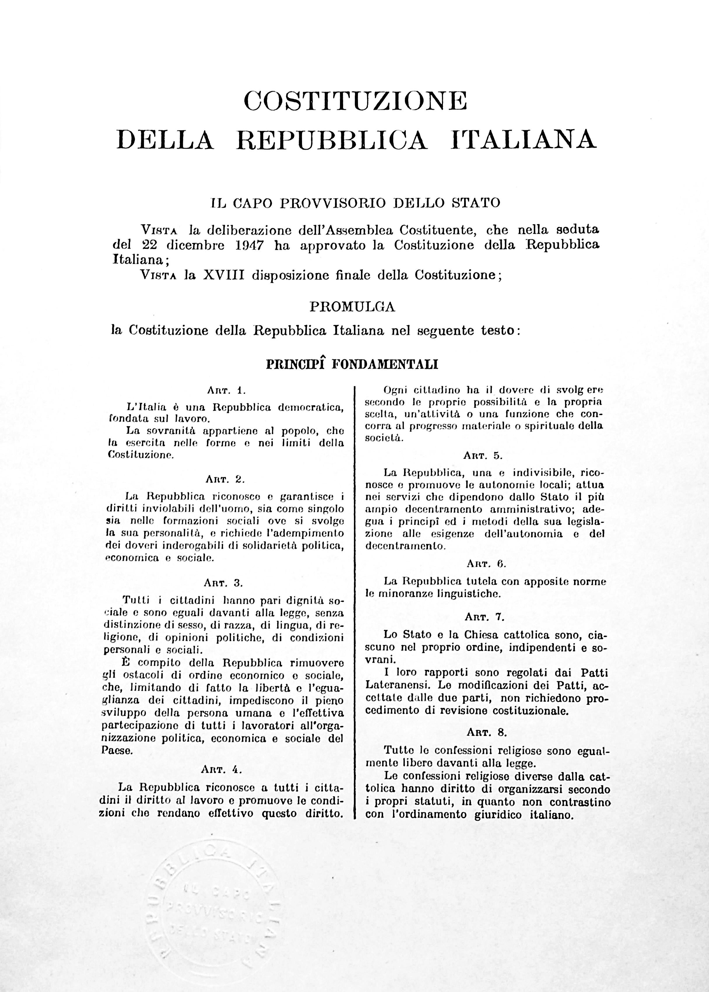 File:Costituzione della Repubblica Italiana.jpg